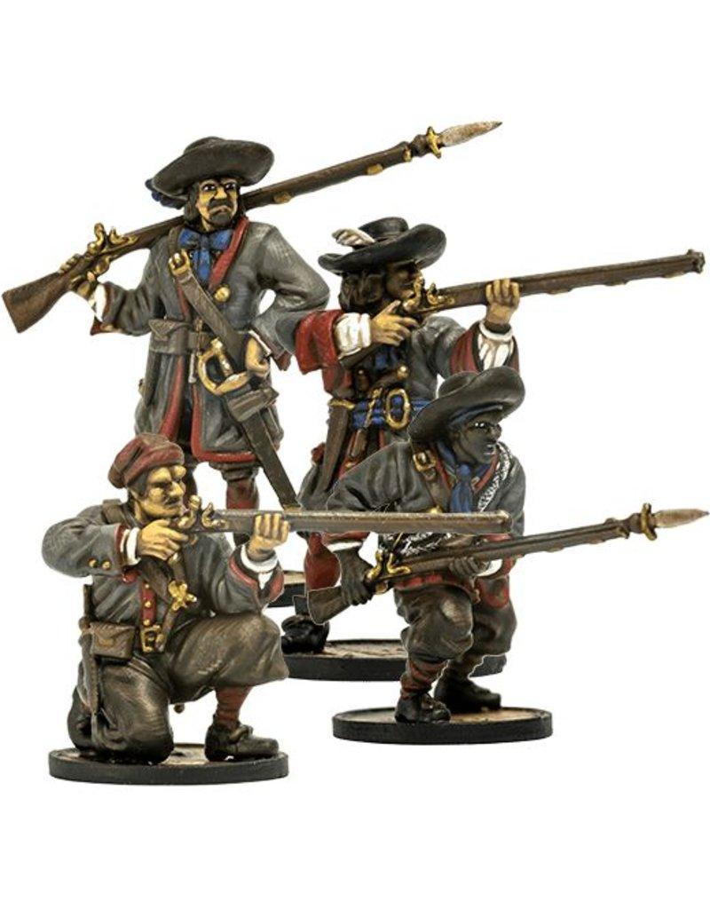 Firelock Games French Milice des Caraibes Unit