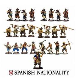 Firelock Games Spanish Nationality Set