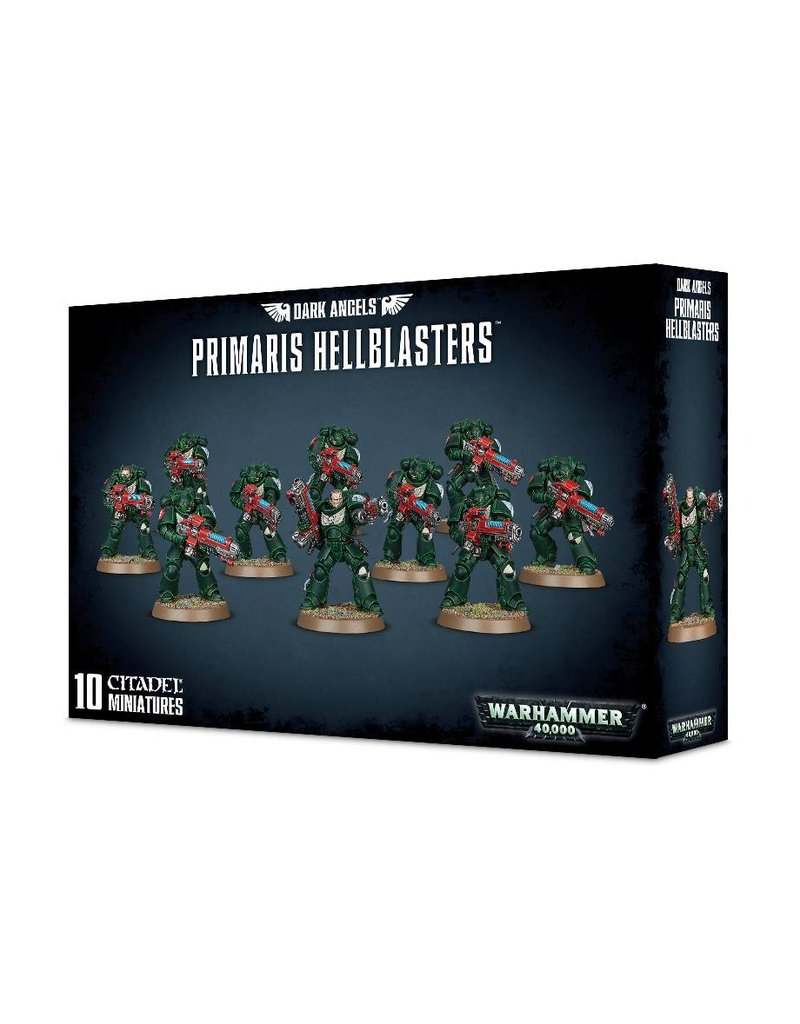 Games Workshop Adeptus Astartes Dark Angels Primaris Hellblasters