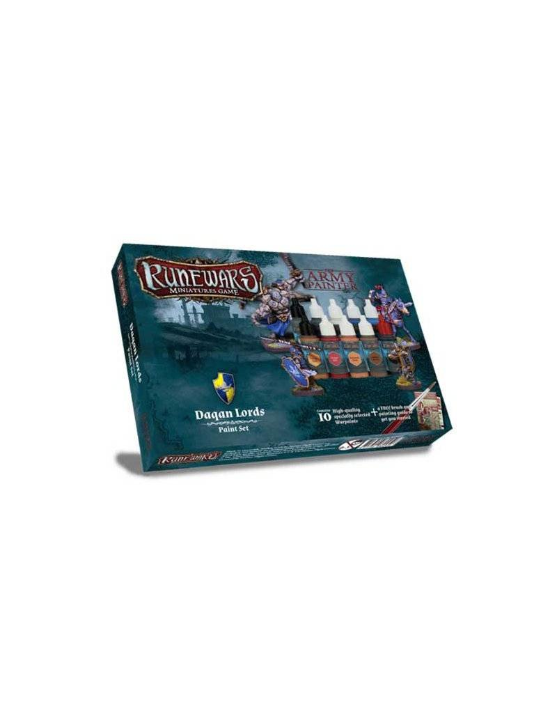 The Army Painter Runewars: Daqan Lords Paint Set