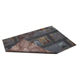 Game Mat Double Sided: Quarantine Zone and Wastelands