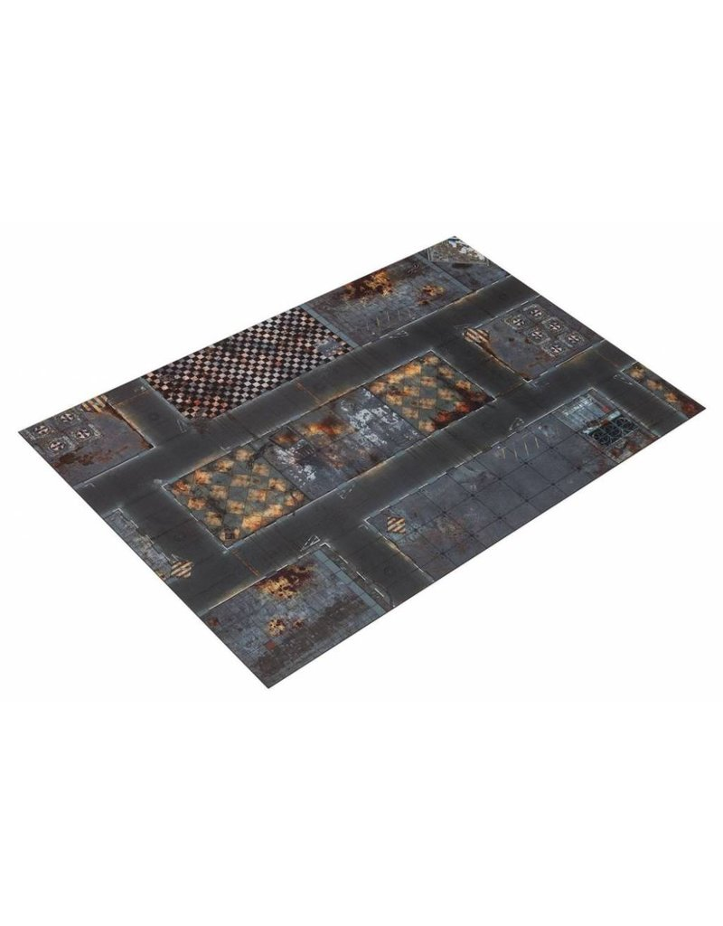Game Mat 6'x4' Double Sided G-Mat: Quarantine Zone and Wastelands
