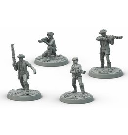 Modiphius Entertainment Wasteland Warfare - Survivors Minutemen Posse