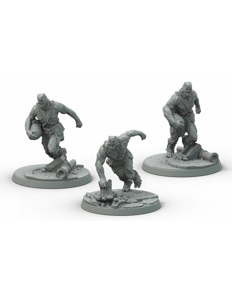 Modiphius Entertainment Fallout: Wasteland Warfare - Super Mutants Suiciders