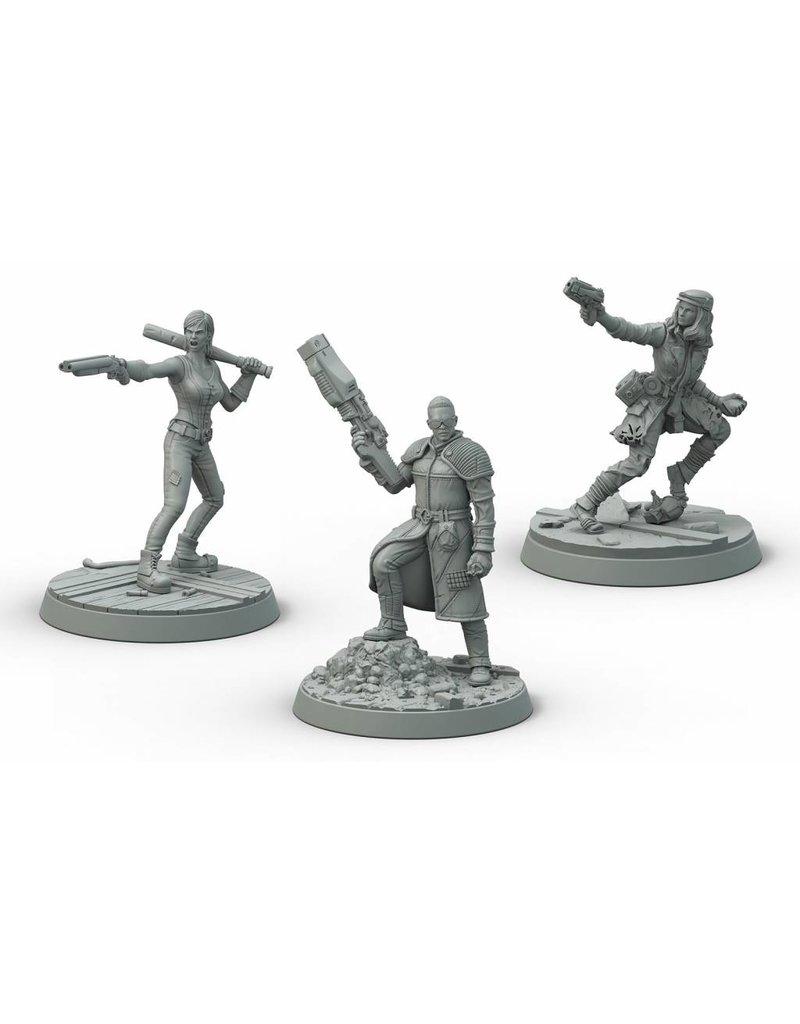 Modiphius Entertainment Fallout: Wasteland Warfare - Survivors Boston Companions