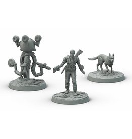 Modiphius Entertainment Wasteland Warfare - Survivors Heroes of Sanctuary Hills