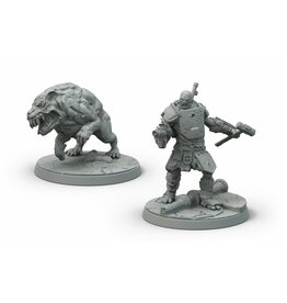 Modiphius Entertainment Wasteland Warfare - Super Mutants Hammer