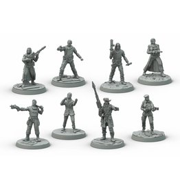 Modiphius Entertainment Wasteland Warfare - Survivors Core Box