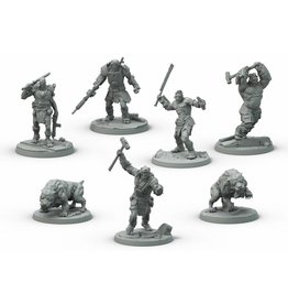 Modiphius Entertainment Wasteland Warfare - Super Mutants Core Box