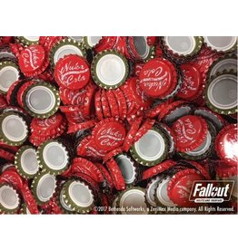 Modiphius Entertainment Wasteland Warfare - Nuka Cola Caps Set