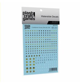 Plast-Craft Combined Army Decals V2
