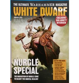 Games Workshop White Dwarf January 2018