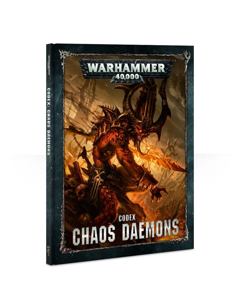 Games Workshop Codex: Chaos Daemons (HB) (8th edition)