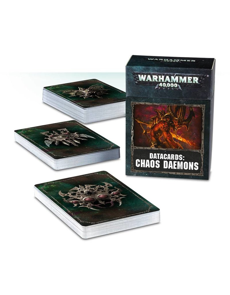Games Workshop Datacards: Chaos Daemons (EN)