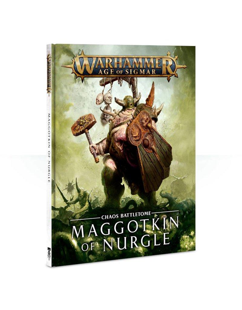 Games Workshop Battletome: Maggotkin Of Nurgle (HB)