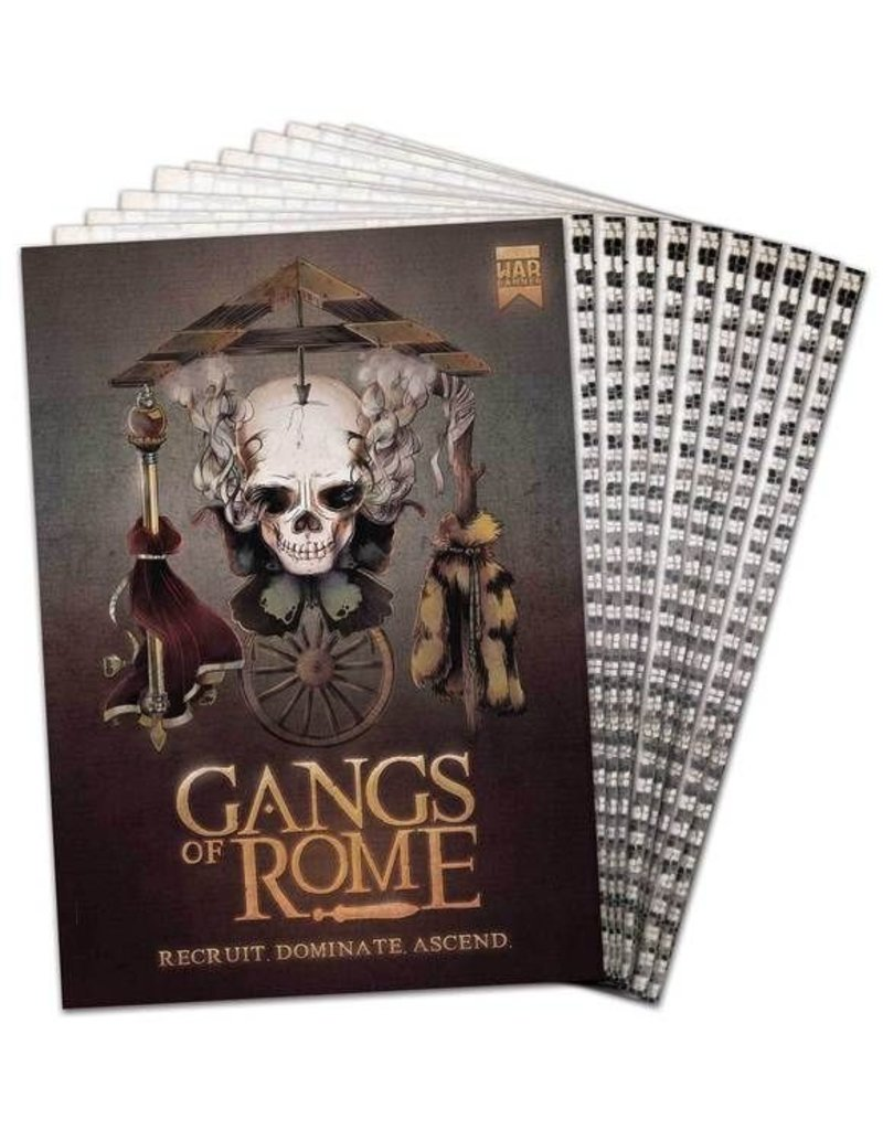 War Banner Gangs of Rome Rulebook