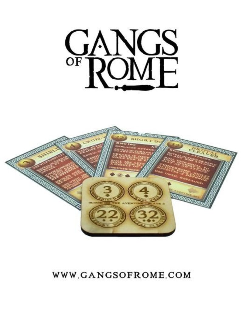 War Banner Gangs Of Rome Fighter Secundus
