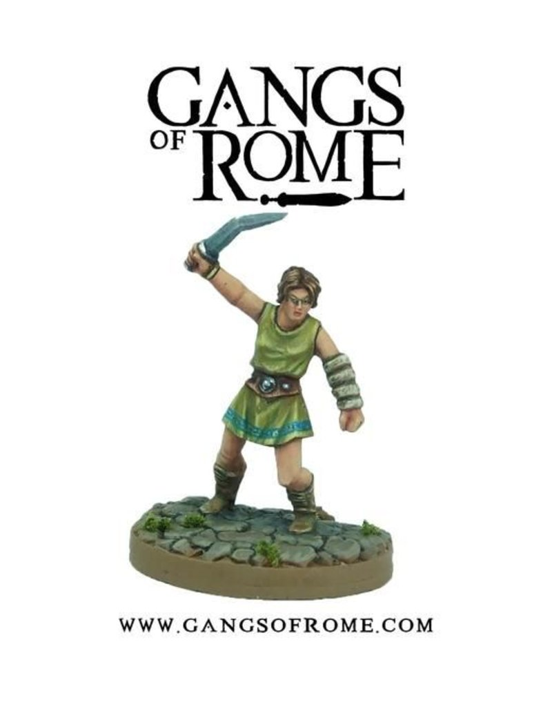 War Banner Gangs Of Rome Fighter Sextus
