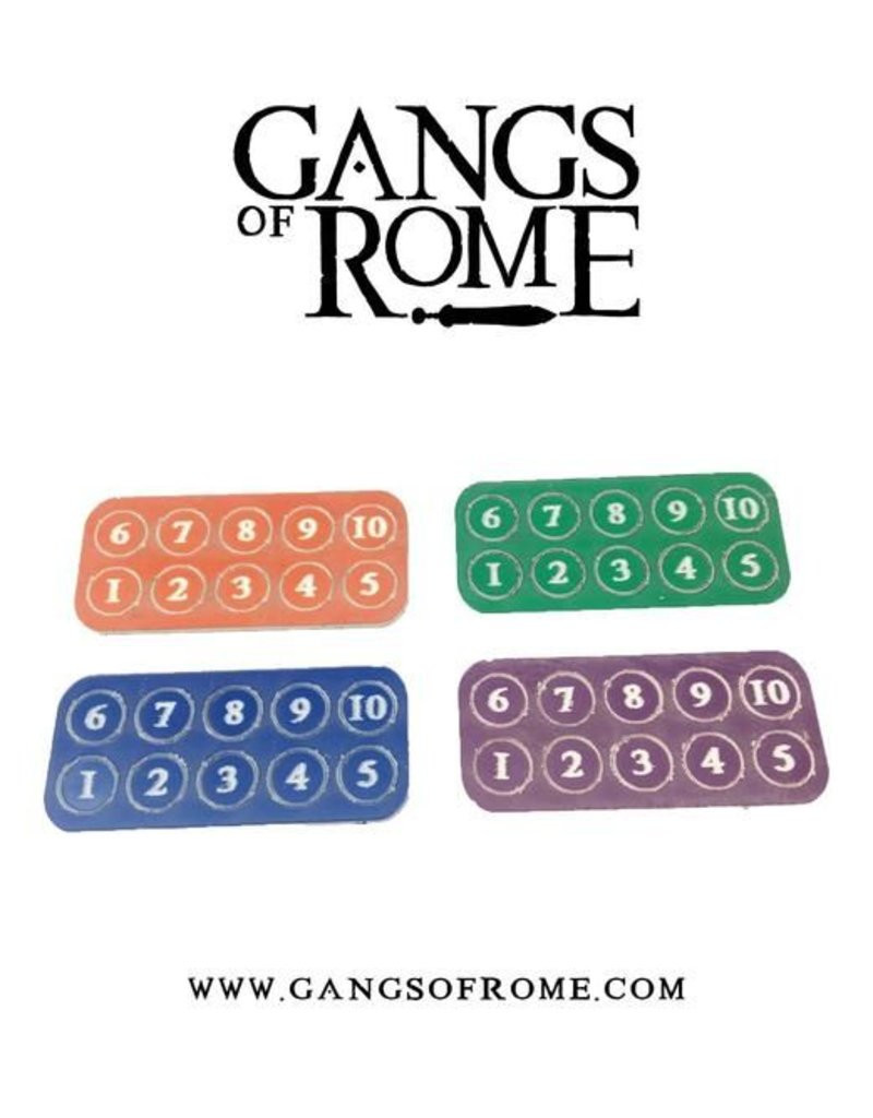 War Banner Gangs Of Rome Gang Fighter ID Markers (40)