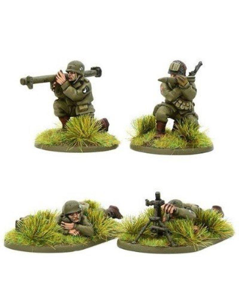 Warlord Games US Army Airborne Bazooka & Light Mortar teams (1944-45)