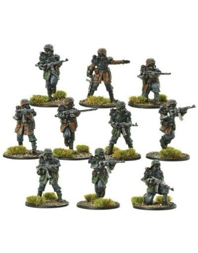 Warlord Games German Army Waffen-SS Shocktrooper Squad