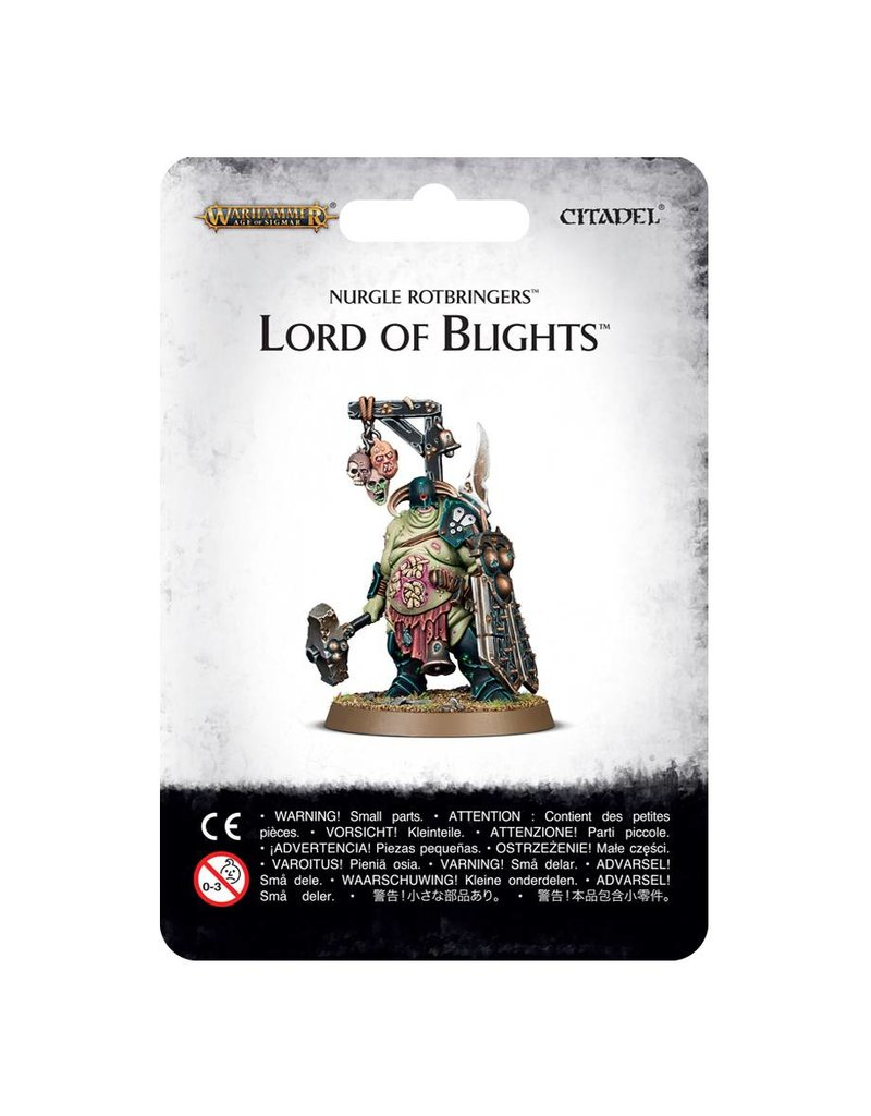 Games Workshop Nurgle Rotbringers Lord Of Blight