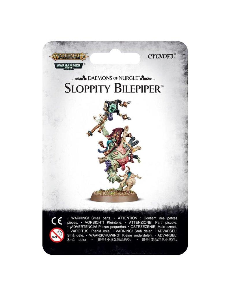 Games Workshop Daemons Of Nurgle Sloppity Bilepiper