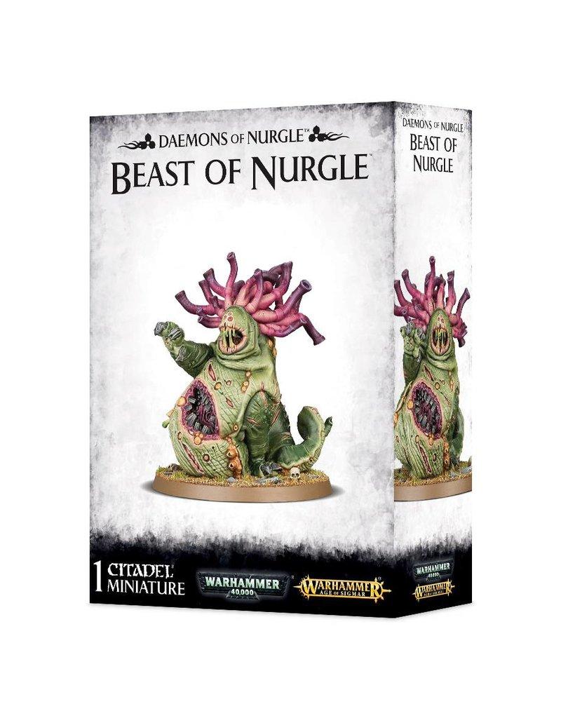 Games Workshop Daemons Of Nurgle Beast Of Nurgle