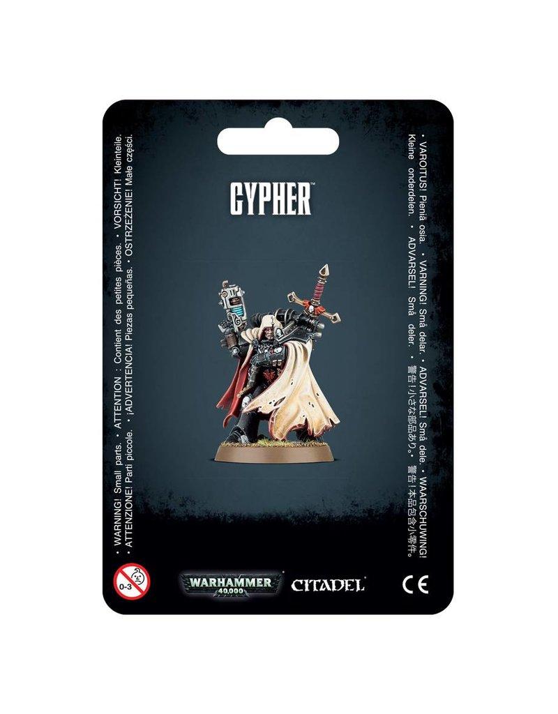 Games Workshop Adeptus Astartes Cypher