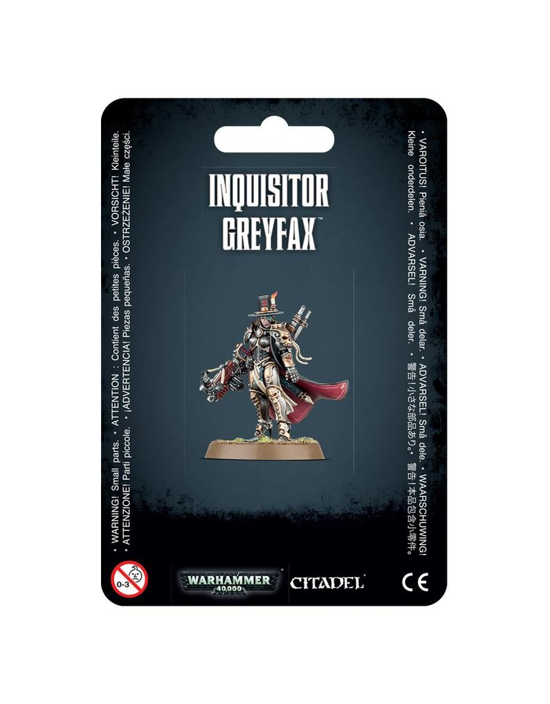 Games Workshop Imperial Forces Inquisitor Greyfax