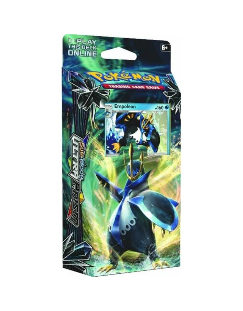 Pokemon Sun & Moon Ultra Prism Theme Deck (Empoleon)