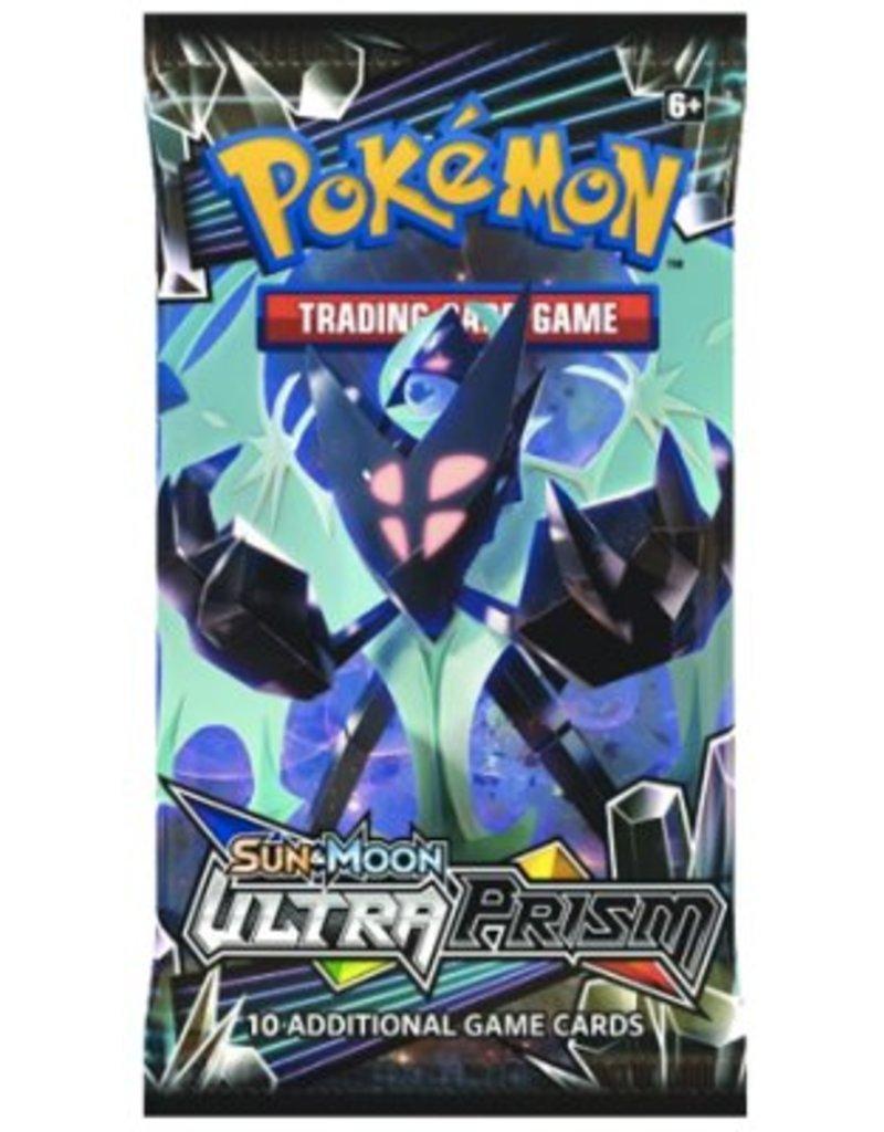 Pokemon Sun & Moon Ultra Prism Booster