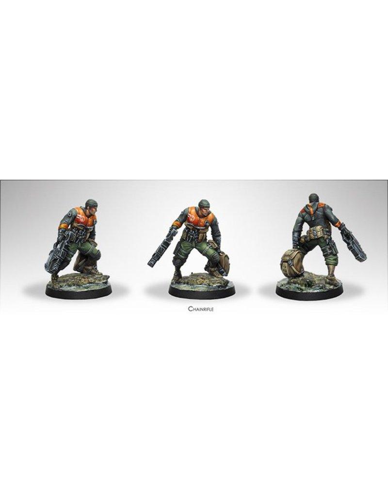 Corvus Belli Ariadna Irmandinhos (Chain Rifle) Blister Pack
