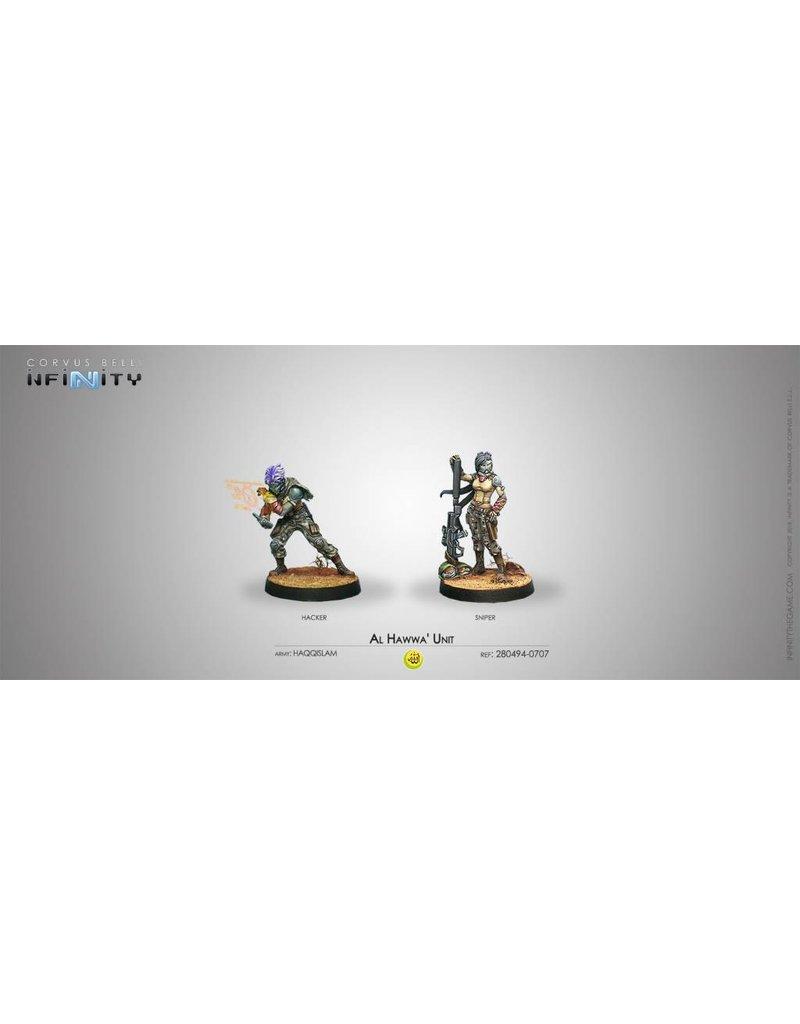Corvus Belli Haqqislam Al Hawwa' Unit (Hacker / Sniper) Blister Pack