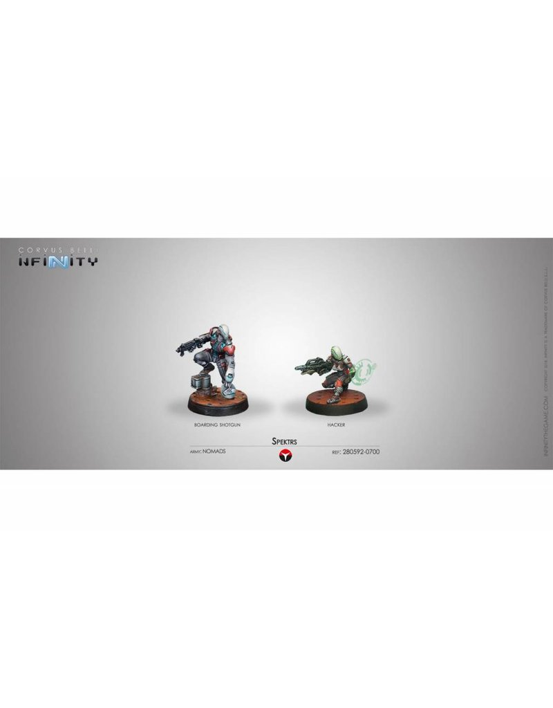 Corvus Belli Spektrs (Boarding Shotgun / Hacker) Blister Pack