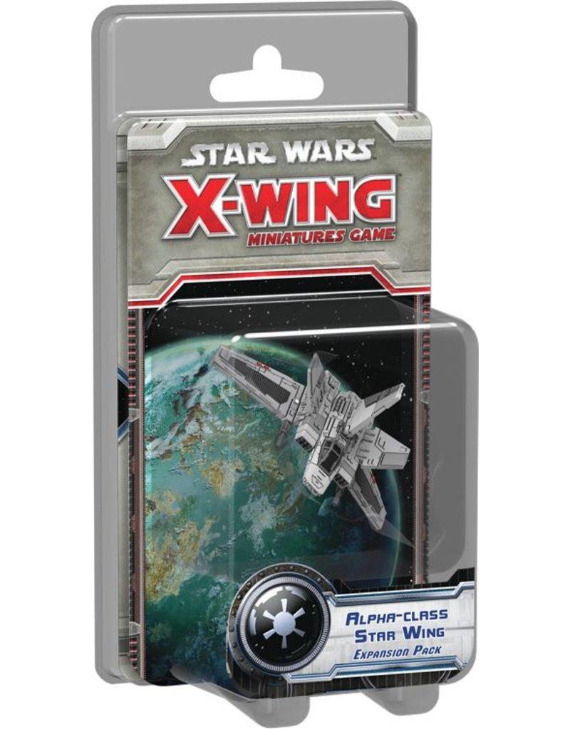 Fantasy Flight Games Star Wars X-Wing: Alpha-class Star Wing Expansion Pack