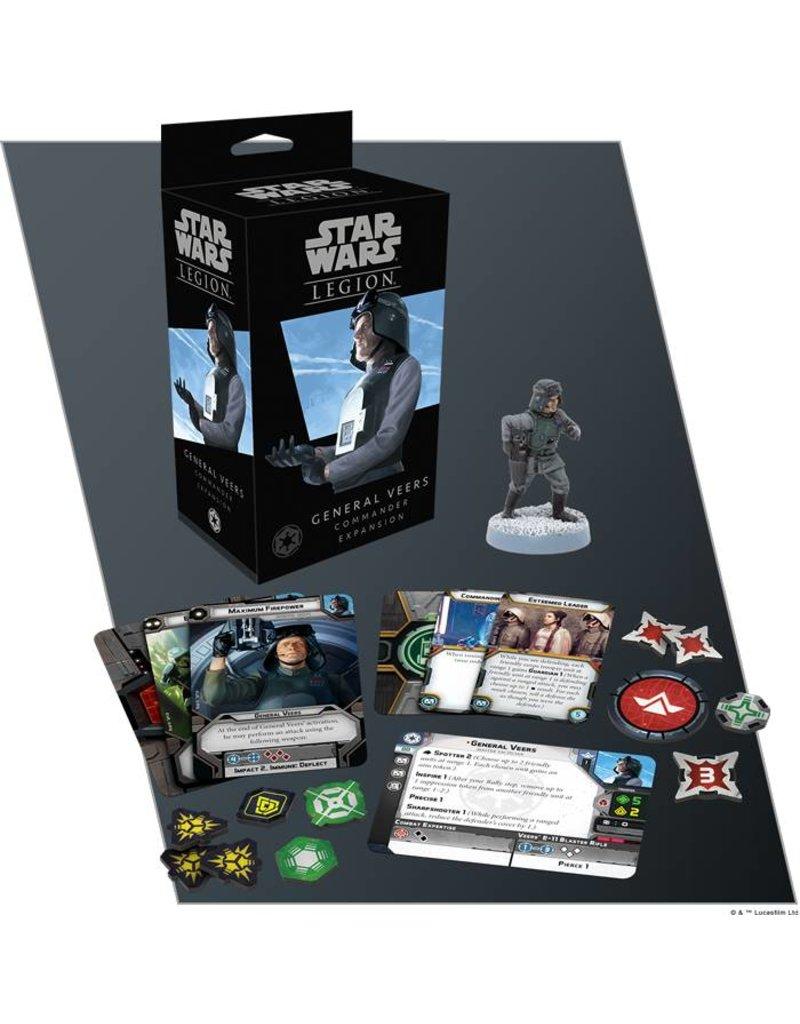 Fantasy Flight Games Star Wars Legion: Imperial General Veers Commander Expansion