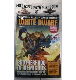 Games Workshop White Dwarf February 2018