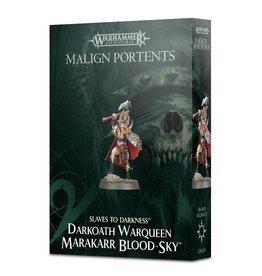 Games Workshop Malign Portents Warqueen Marakarr Blood Sky