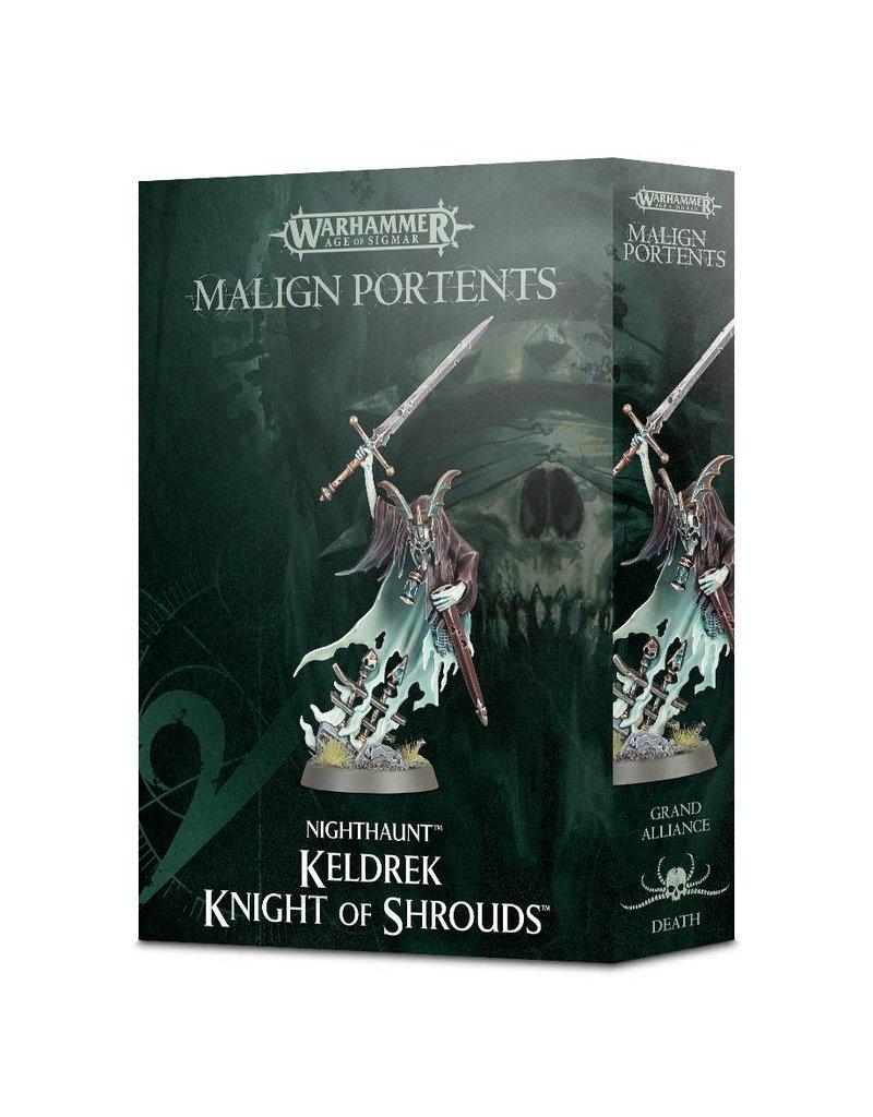 Games Workshop Malign Portents Nighthaunt Keldrek, Knight Of Shrouds