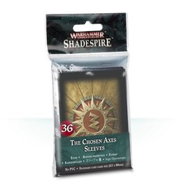 Games Workshop The Chosen Axes Sleeves