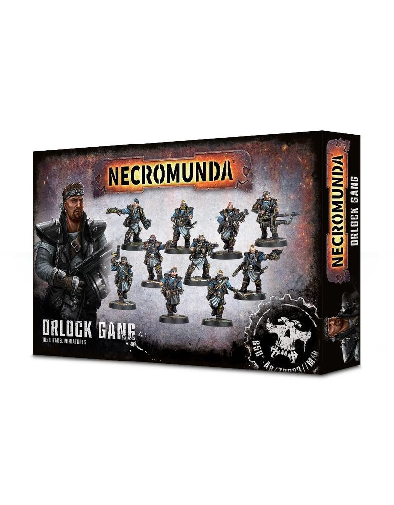 Games Workshop Necromunda Orlock Gang Box Set