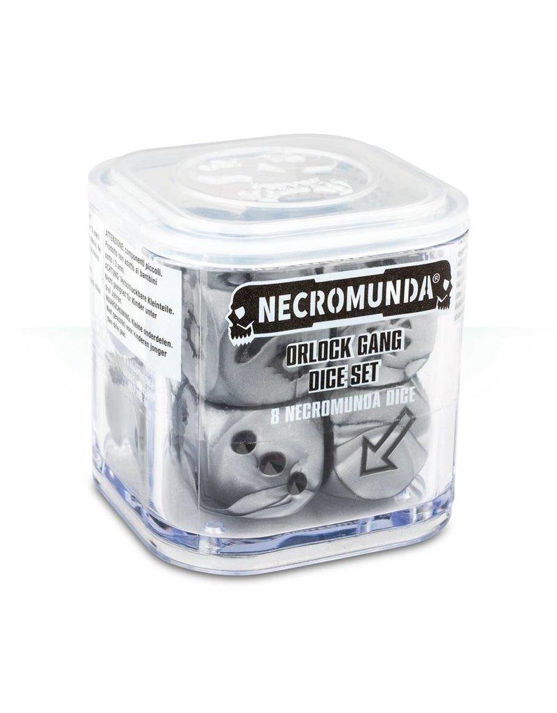 Games Workshop Necromunda Orlock Gang Dice Set