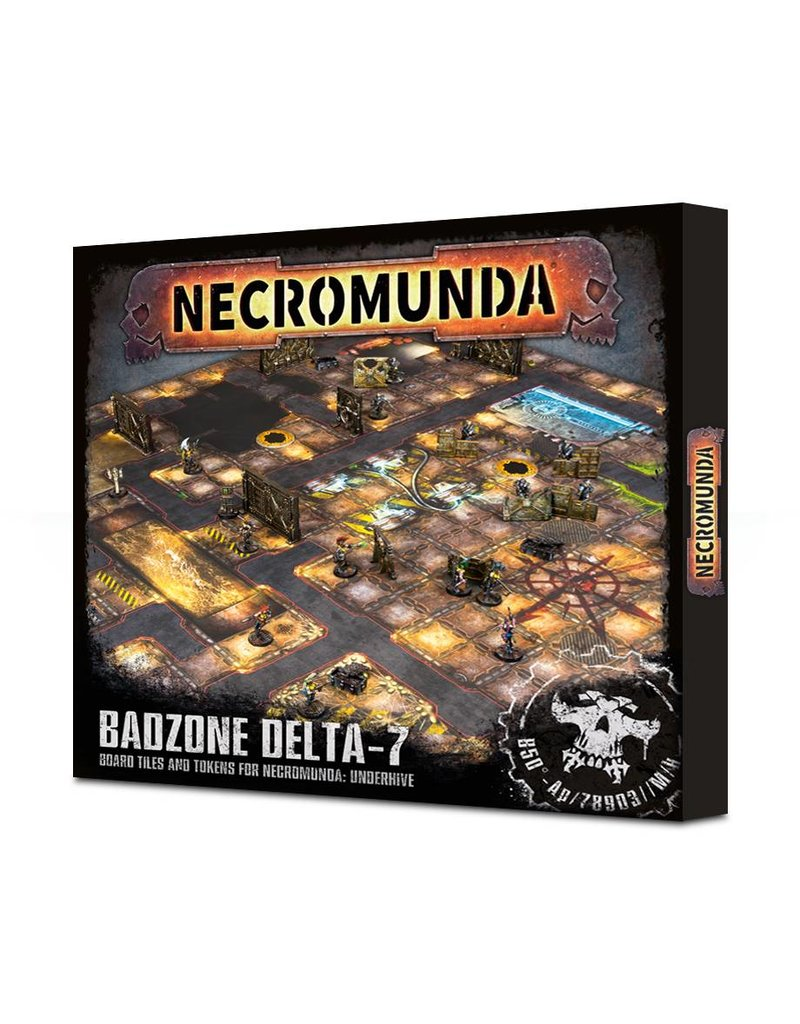 Games Workshop Necromunda: Underhive Badzone Delta-7