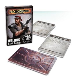 Games Workshop Orlock Gang Tactics Cards
