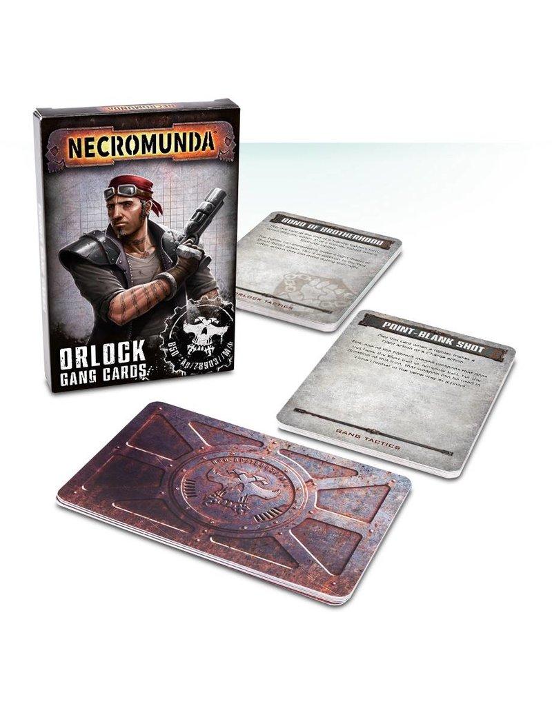 Games Workshop Orlock Gang Tactics Cards (EN)