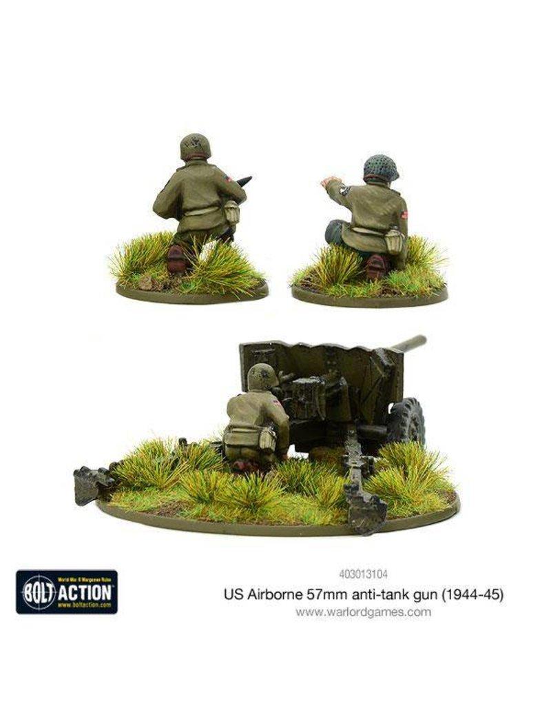 Warlord Games US Army Airborne 57mm anti-tank gun (1944-45)