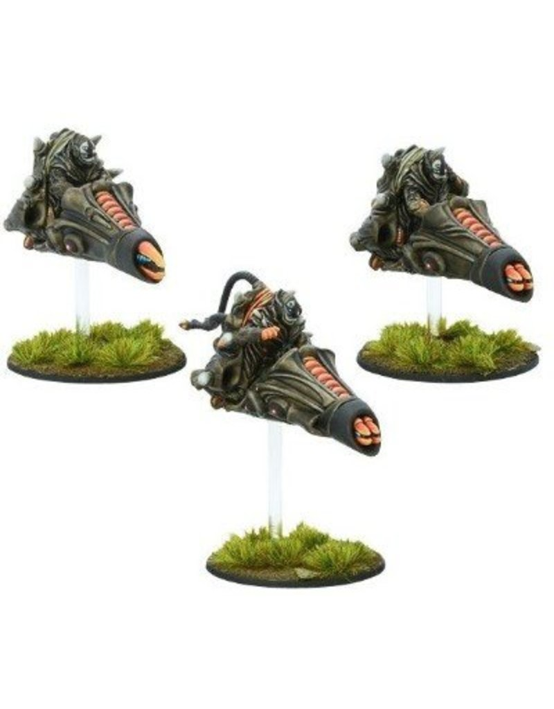 Warlord Games Isorian Pulse Bike Command Squad Box Set