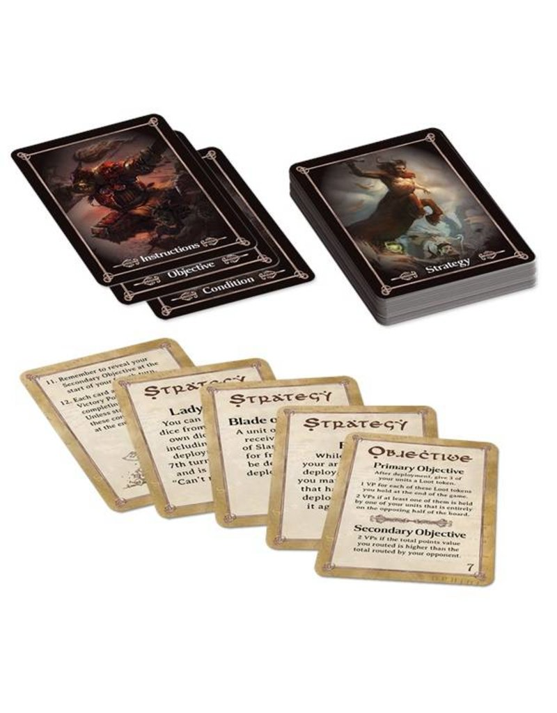 Mantic Games Kings of War Tactics Deck