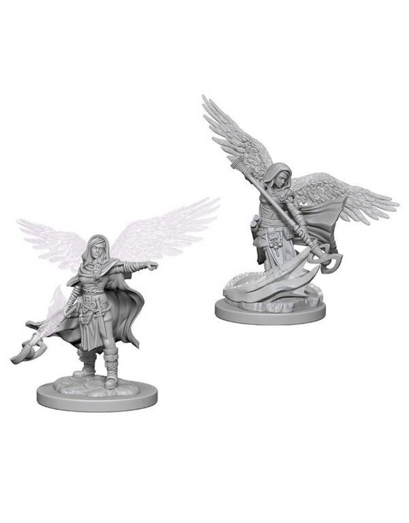 Wizkids Nolzur's Marvelous Miniatures: Aasimar Female Wizard Blister Pack (Wave 4)